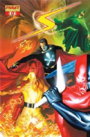 Project Superpowers #0 Cover A (2008) Alex Ross Dynamite comic book SALE